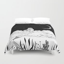 Moon River Duvet Cover