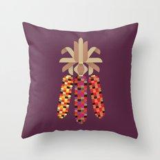 Indian Corn Throw Pillow