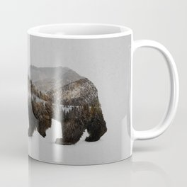 The Kodiak Brown Bear Coffee Mug