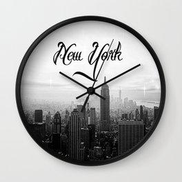 New York sk Wall Clock