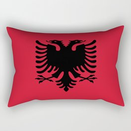 flag of Albania Rectangular Pillow