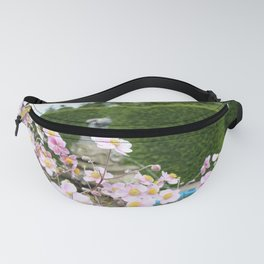 Flowers and Fountains Fanny Pack