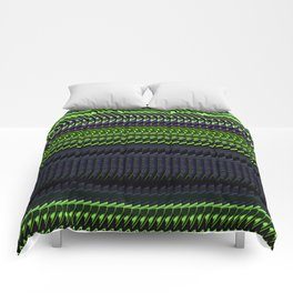 Apple Grape Rag Weave by Chris Sparks Comforters