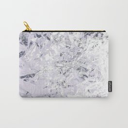 Aluminum Lilac Carry-All Pouch