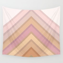 Pastel Peaks Wall Tapestry