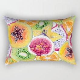 Tutti Frutti summer delight Rectangular Pillow