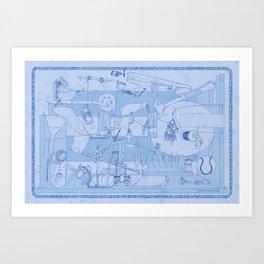 Contraption Art Print