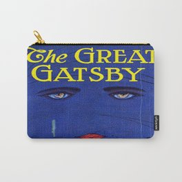 The Great Gatsby vintage book cover - Fitzgerald Carry-All Pouch