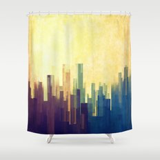 The Cloud City Shower Curtain