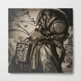 Man In Fly Costume Metal Print