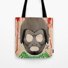 DEATH RACE 2000 - Frankenstein Mask Tote Bag