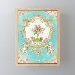 French Baroque Patisserie Tea Framed Mini Art Print