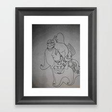 Roo Framed Art Print