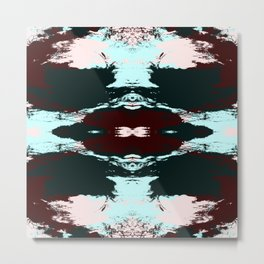 Hisae - Abstract Colorful Art Pattern Metal Print