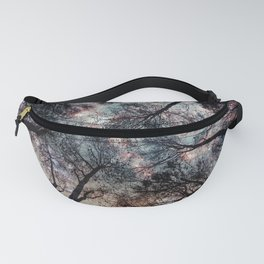 Starry Sky in the Forest Fanny Pack