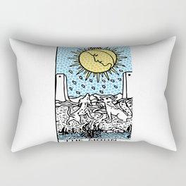 Modern Tarot 18 - The Moon Rectangular Pillow