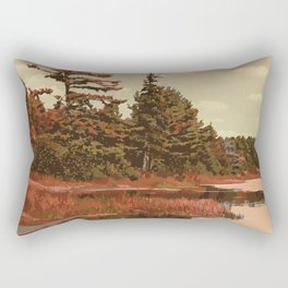 Grundy Lake Provincial Park Poster Rectangular Pillow