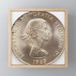 Elizabeth II 1963 Framed Mini Art Print