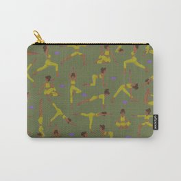 Yogui girl Olive routine Carry-All Pouch