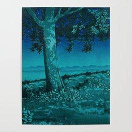 Nightime in Gissei Poster