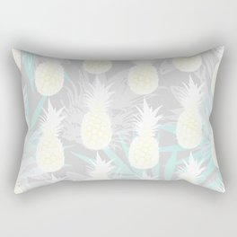 Elegant Pineapple Tropical Beach Pattern Rectangular Pillow