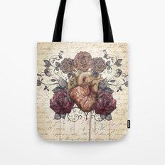 Flowers from my heart Tote Bag