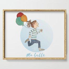 Ma Bulle Bleu Serving Tray