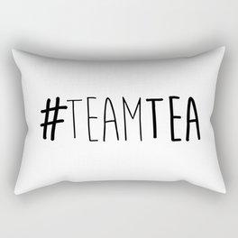 #TeamTea Rectangular Pillow