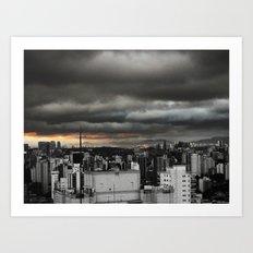 Dark Sky SP Art Print