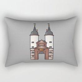 Bridge gate Heidelberg Rectangular Pillow