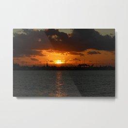 Sunrise in the Keys Metal Print