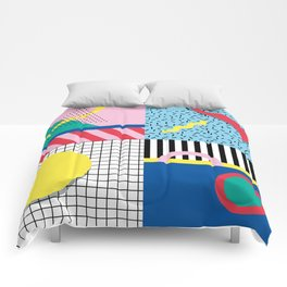 Memphis Party Comforters