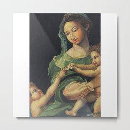 Roman Art - in Watercolor Metal Print