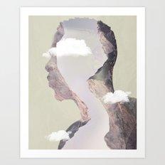 Brain Fog Art Print