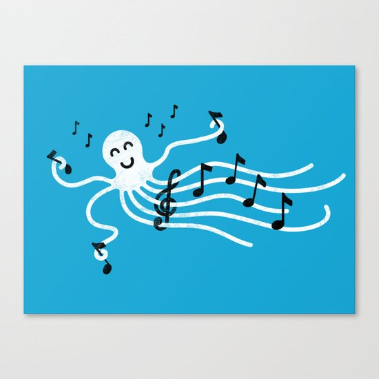 Under the C (Major) Canvas Print
