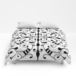 Lashes and Dots Comforters