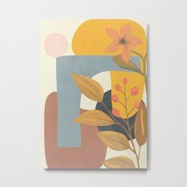 Elegant Shapes 07 Metal Print
