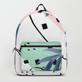 Summer Palms Cali Vibes Abstract Glam #1 #tropical #decor #art #society6 Backpack