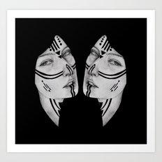 Sisters IV Art Print