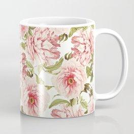 old fashioned peonies Coffee Mug