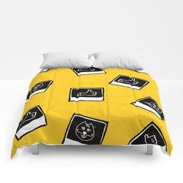 Like My Cat Pics Polaroids Pattern Comforters