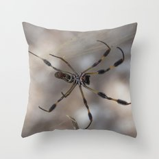 Spider 1 | Picture A Throw Pillow