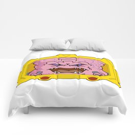 Portrait of KRANG! Comforters