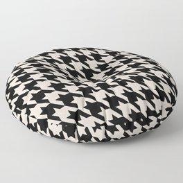 70s Houndstooth Floor Pillow