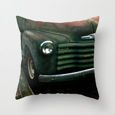 Meets the Pavement  Throw Pillow