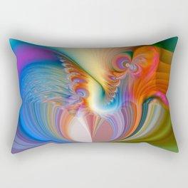 Love Rainbow Rectangular Pillow