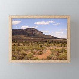 Rawnsley Bluff in the Australian Flinders Ranges Framed Mini Art Print