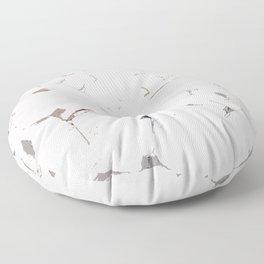 White Bricks Floor Pillow