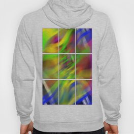 colourful abstraction Hoody