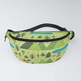 Summer Nature Camping Fanny Pack